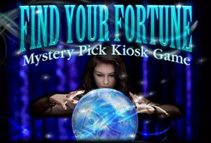 Find your fortune mystery pick kiosk game