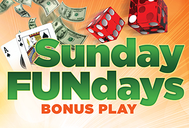 Sunday Funday Bonus Play - Las Vegas Deals