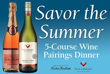 5-course Wine Pairings Dinner