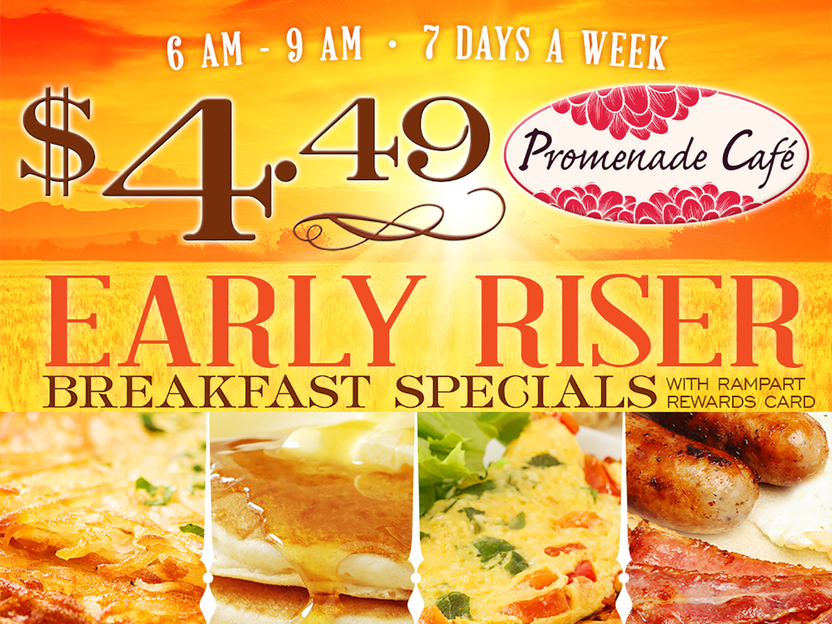 Casino breakfast specials