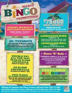 Bingo - Vegas Deals & Promotions