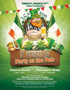 St Patricks Day Party at the Pub - Things to do in Las Vegas