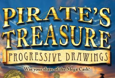 Pirate's Treasure Progressive Drawings