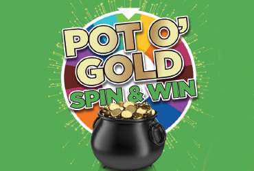Pot O' Gold Spin & Win Kiosk Game