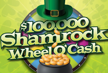$100,000 Shamrock Wheel 'O Cash Drawing