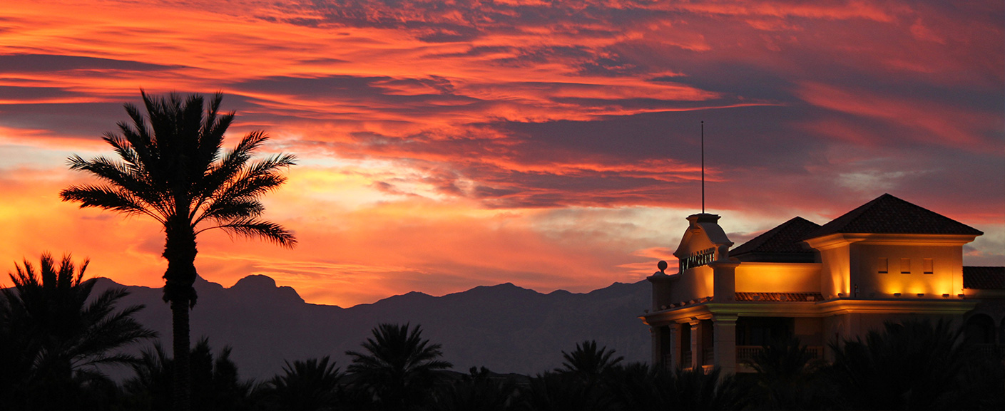 Sunset at JW Marriott Vegas Hotel