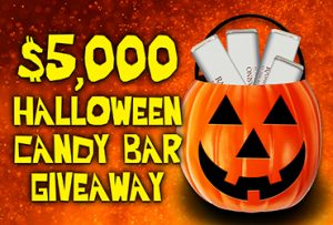 Vegas Event - $5,000 Halloween Candy Bar Giveaway