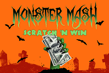Monster Mash Scratch-N-Win Sundays