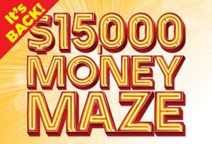 Las Vegas Casino $15,000 Money Maze