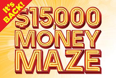 $15,000 Money Maze - Las Vegas Casino