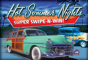 Hot Summer Nights Super Swipe Mondays - Las Vegas Deals