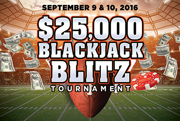 $25,000 Blackjack Tournament Blitz