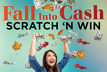 Fall Into Cash Scratch & Win Wednesdays - Las Vegas Deals