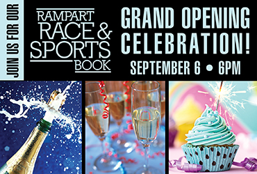 Rampart Race & Sports Book Grand Opening Celebration