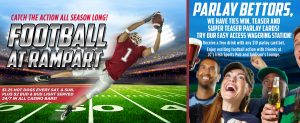 Football Promotions at Rampart Casino