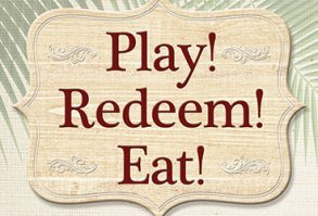Earn 'N Redeem Buffet