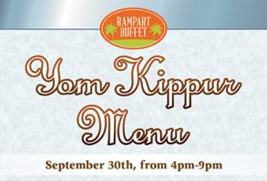 Yom Kippur Menu