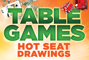 Table Game Hot Seat Drawings