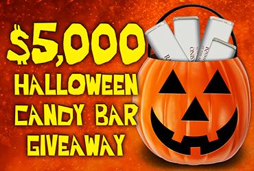 $5,000 Halloween Candy Bar Giveaway - Vegas Event