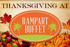 Thanksgiving Dinner at Rampart Buffet