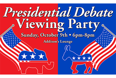 Presidential Debate Viewing Party