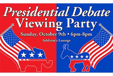 Presidential Debate Viewing Party