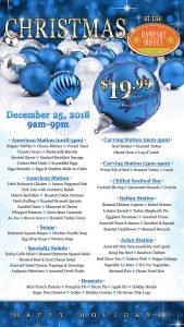 Christmas Buffet summerlin restaurants