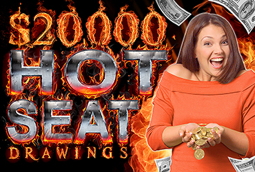 $20,000 Free Slot Play Hot Seats - Las Vegas Slots