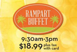 New Years - Rampart Buffet - Las Vegas Food Deals