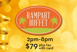 New Years Eve - Rampart Buffet - Las Vegas Food Deals