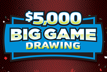 $5,000 Big Game Hot Seat Promotion