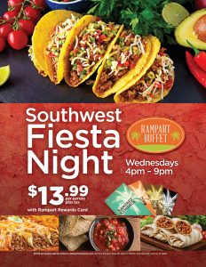 Southwest Fiesta Night - Rampart Buffet - Las Vegas Food Deals