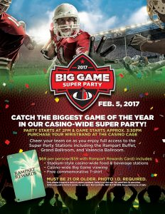 Big Game Super Party 2017 - Things to do in Las Vegas