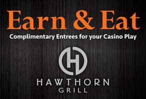 Earn & Eat at Hawthorn Grill