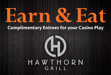 Earn and Eat at Hawthorn Grill