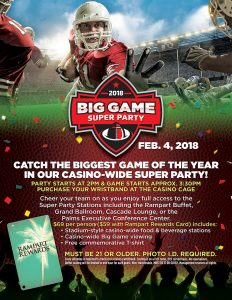 Big Game Super Party - Football