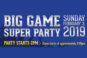 Big Game Super Party