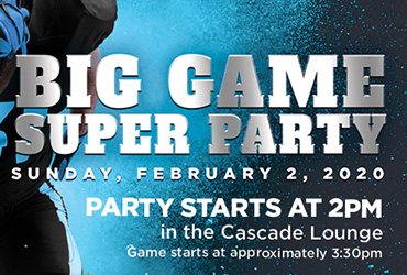 Big Game Super Party