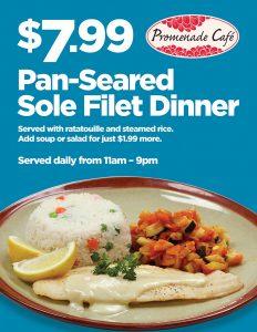 Dinner Special - Promenade Cafe - Las Vegas Food Deals
