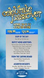 Passover Buffet - Rampart Buffet - Las Vegas Restaurant