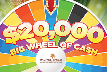$20,000 Big Wheel Of Cash