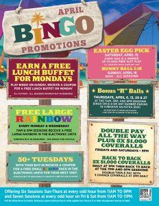 April Bingo Promotion - Las Vegas Bingo