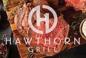 Prime Rib Dinner Special - Hawthorn Grill - Las Vegas Restaurant
