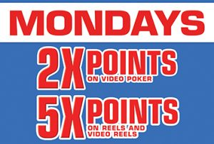 Las Vegas Slots Point Multiplier Mondays