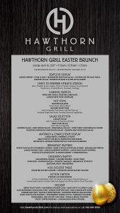 Easter Brunch at Hawthorn Grill