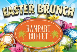 Easter Brunch at Rampart Buffet in Las Vegas