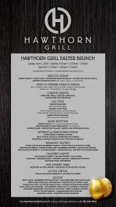 Easter Brunch at Hawthorn Grill in Summerlin, Las Vegas