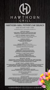 Mother's Day Brunch at Hawthorn Grill