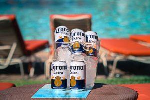 Pool Drinks Specials - Bucket of Corona or Corona Light