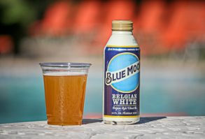 Pool Drink Specials Bucket of Blue Moon